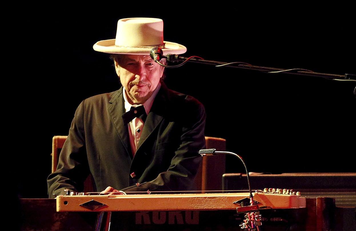 Bob Dylan, 2012an, Castellon eskainitako kontzertuan. ©DOMENECH CASTELLO / EFE