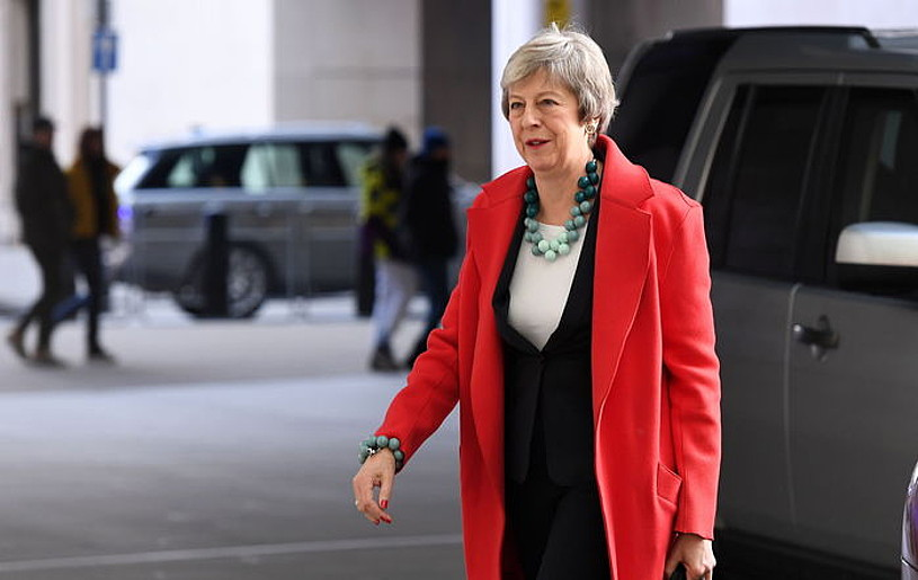 Theresa May Erresuma Batuko lehen ministroa, urtearen hasieran, Londresen. ©ANDY RAIN / EFE