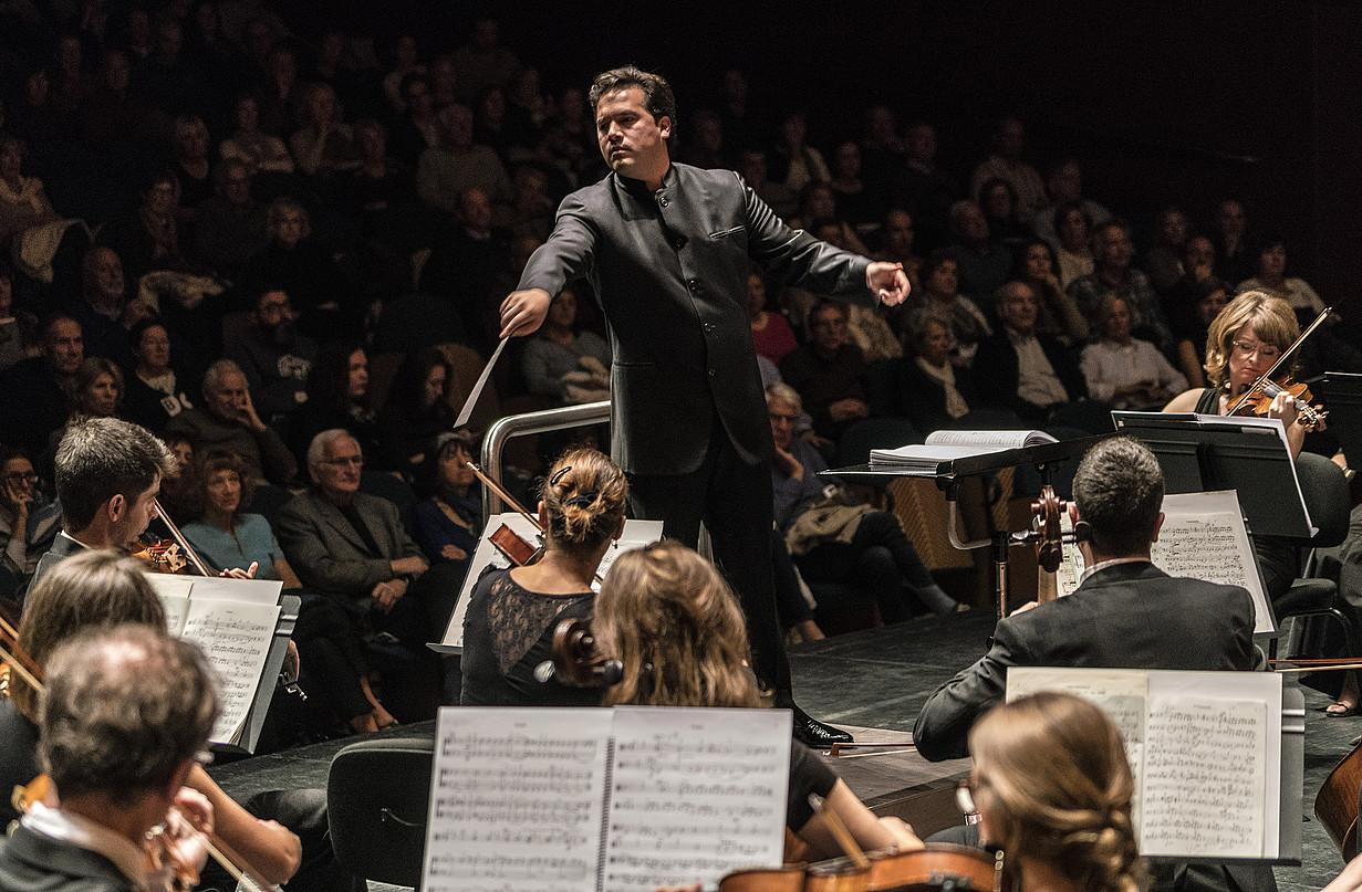 Robert Treviño Euskadiko Orkestra Sinfonikoko zuzendaria. ©JUANTXO EGAÑA