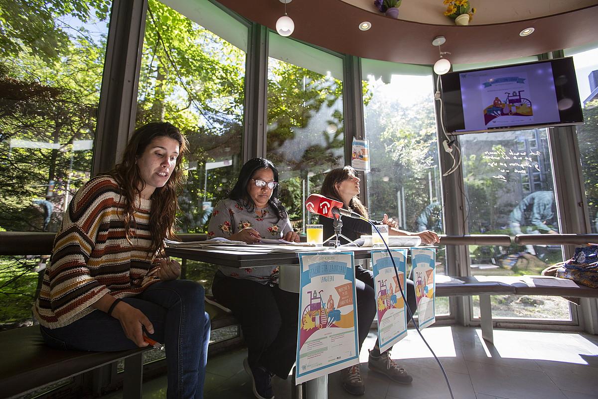 Ikerketaren aurkezpena, atzo, Gasteizen. ©ENDIKA PORTILLO / FOKU