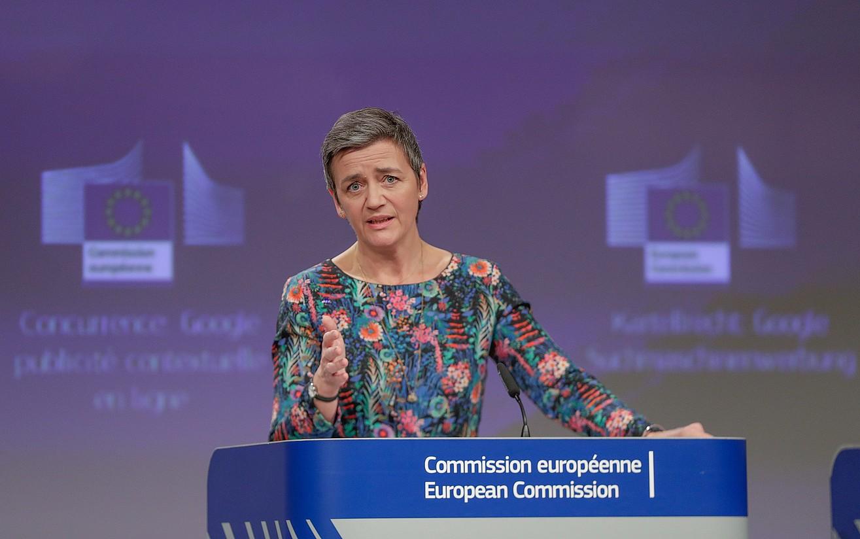 Margrethe Vestager Europako Lehiarako komisarioa. ©STEPHANIE LECOCQ / EFE