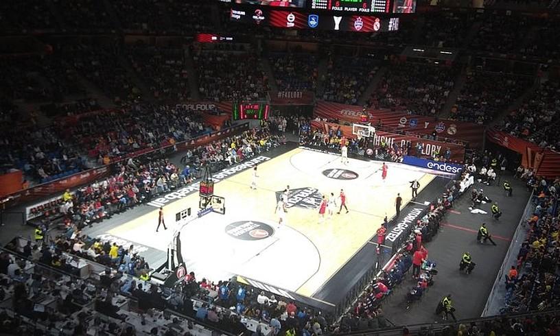 Buesa Arena pabiloia bigarren finalerdian. ©IMANOL MAGRO