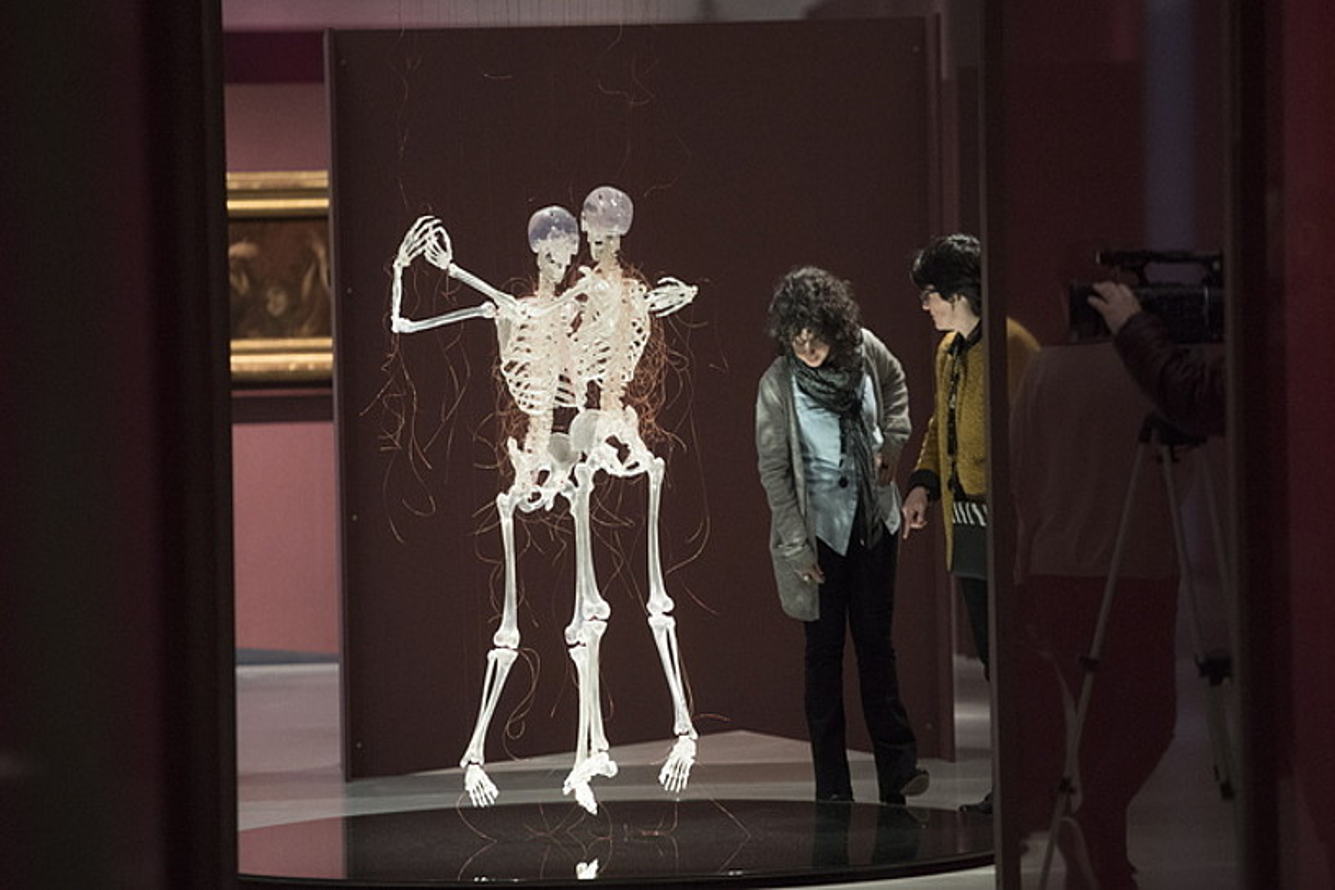 Javier Perezen <em>Aria da Capo</em> (2008) obra, San Telmo museoan. ©GORKA RUBIO / FOKU