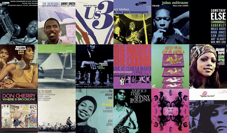 Blue Notek bere historian argitaratu dituen disko batzuen azalak. ©BERRIA