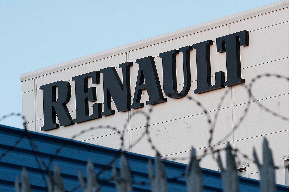 Renaulten egoitza Birminghamen, artxiboko irudi batean.