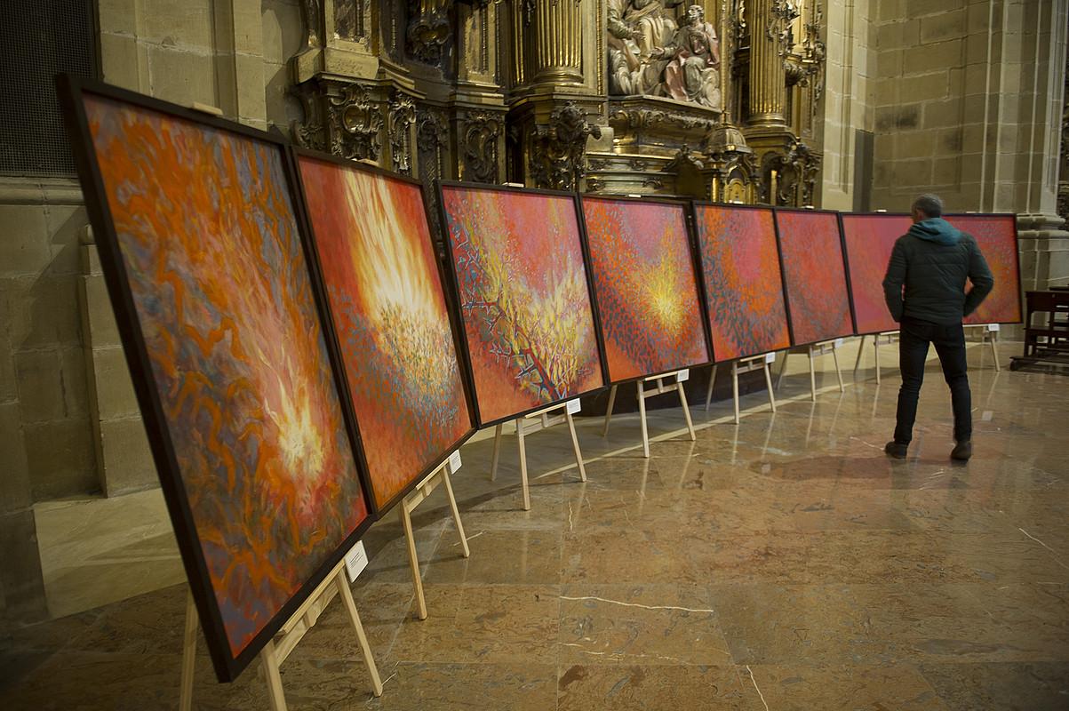 Xavier Alvarez de Eulate artista eta fraide frantziskotarraren lanen erakusketa bat. Haren 600dik gora obra daude katalogatuta.