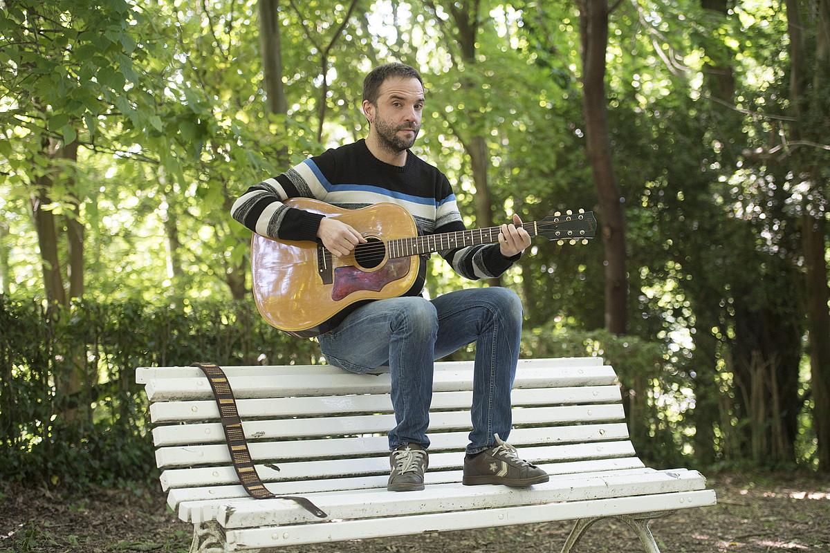 Iker Lauroba musikaria uztailaren 6an ariko da Tabakaleran. ©JUAN CARLOS RUIZ / FOKU