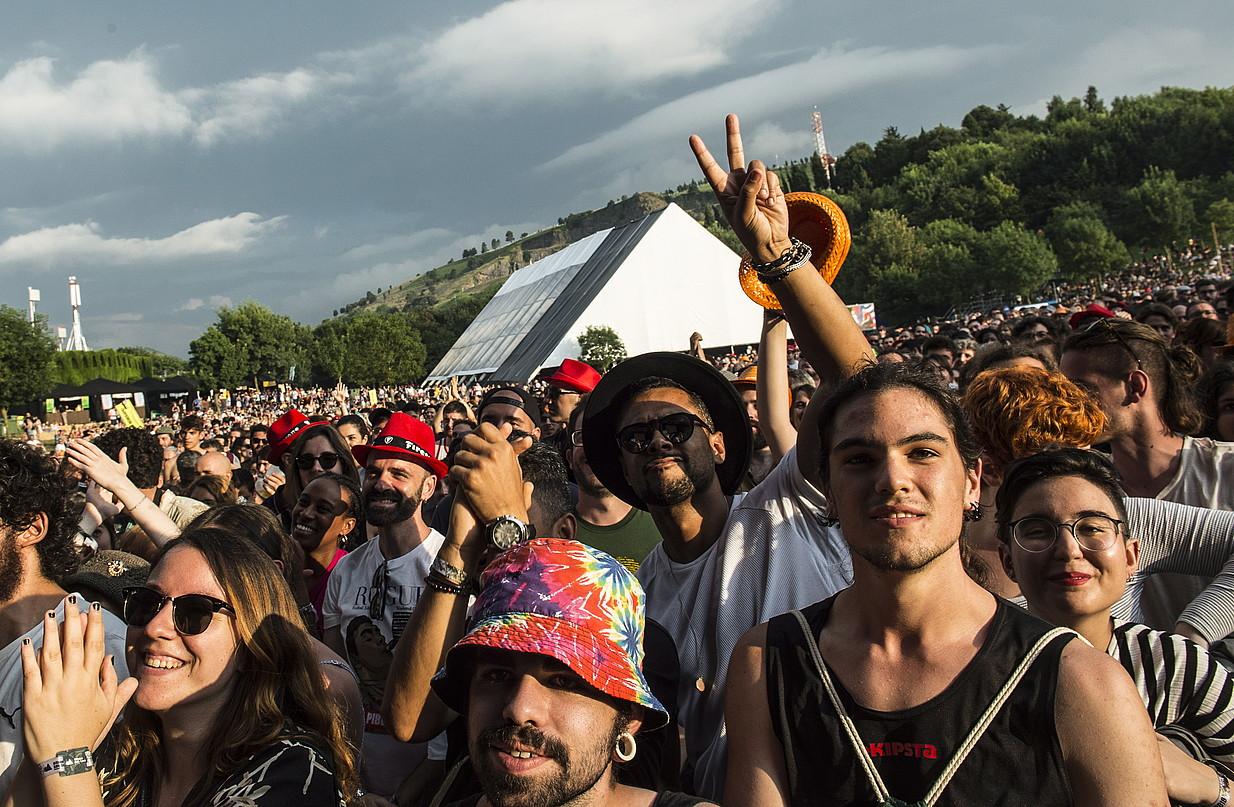Musikazaleak iaz, Kobetamendin, BBK Live jaialdian. ©MARISOL RAMIREZ / FOKU