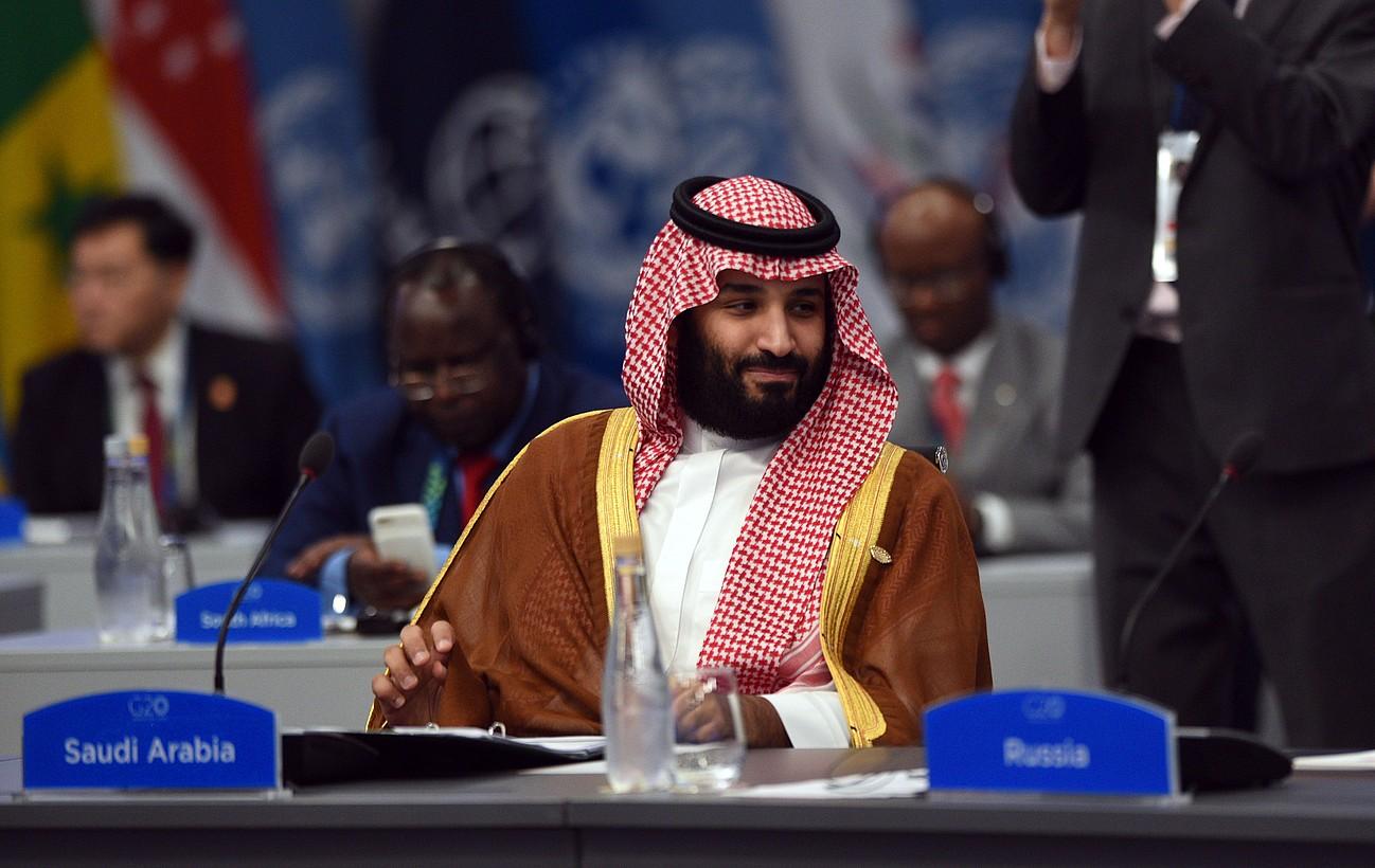 Bin Salman Saudi Arabiako printze oinordekoa, artxiboko irudi batean. ©G20 / EFE