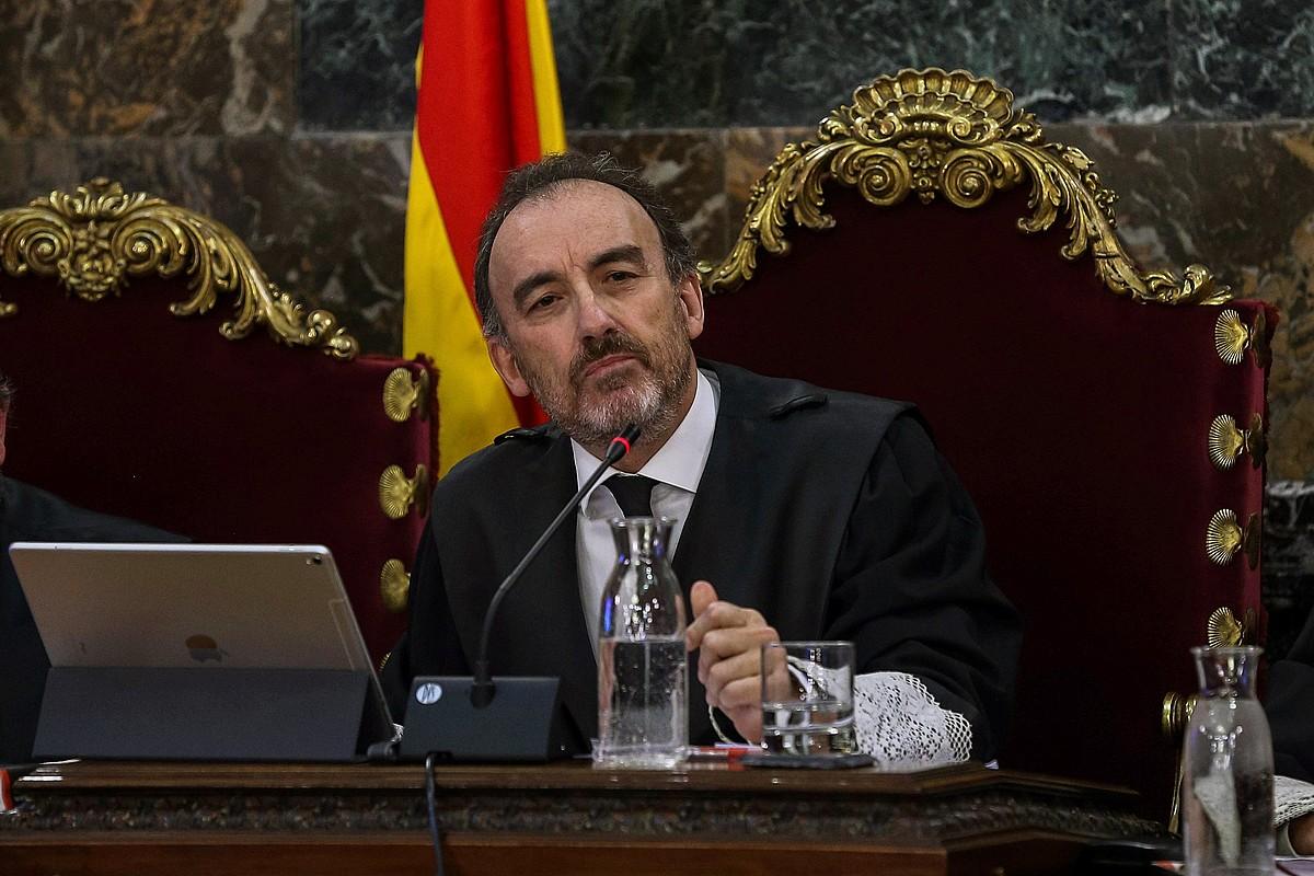 Manuel Marchena epaimahaiburua, joan den ekainaren 12an. ©EMILIO NARANJO / EFE