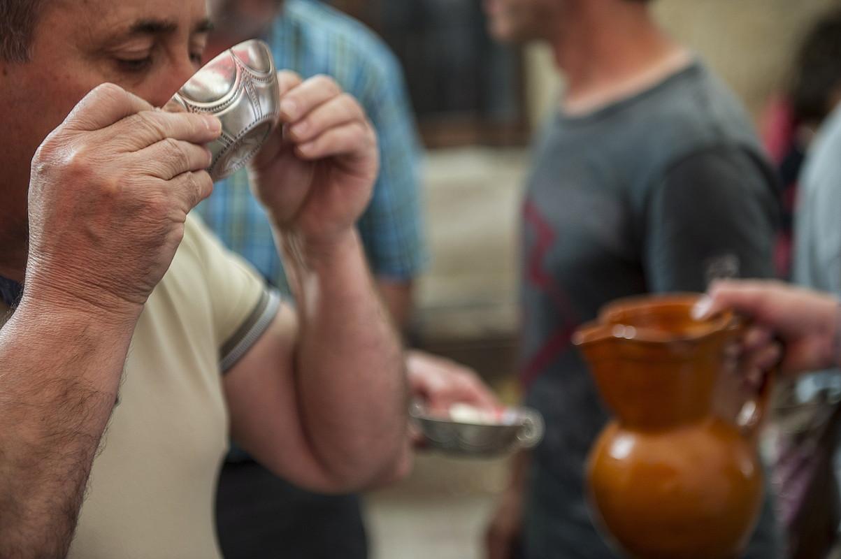 Egunero egiten dituzte auzateak Arbizuko bestetan. ©JAGOBA MANTEROLA / FOKU