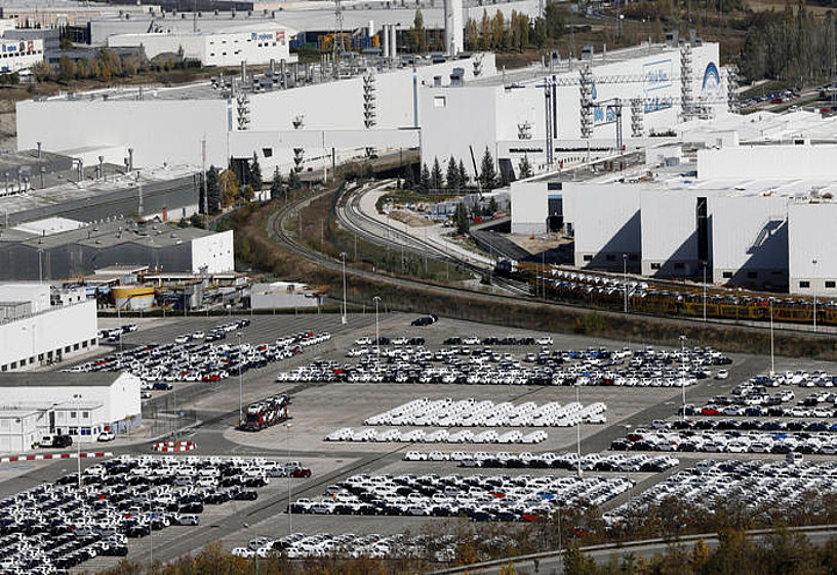 Volkswagenen lantegia, Iruñeko Landaben industrialdean. ©JESUS DIGES / EFE