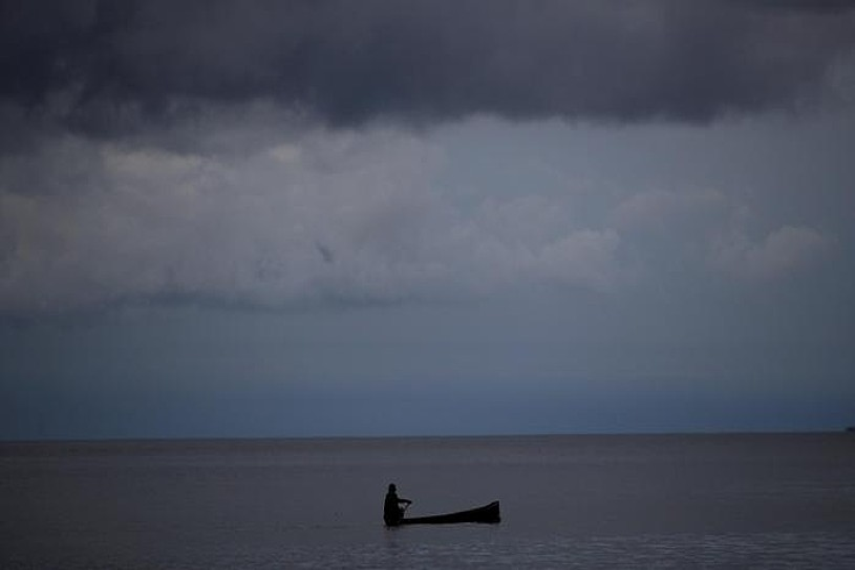 Panamako Gardi Sugdub irla. Guna Yala eskualde indigenaren parte da, klima aldaketak gogor jo duen eremua. ©B.V. / EFE
