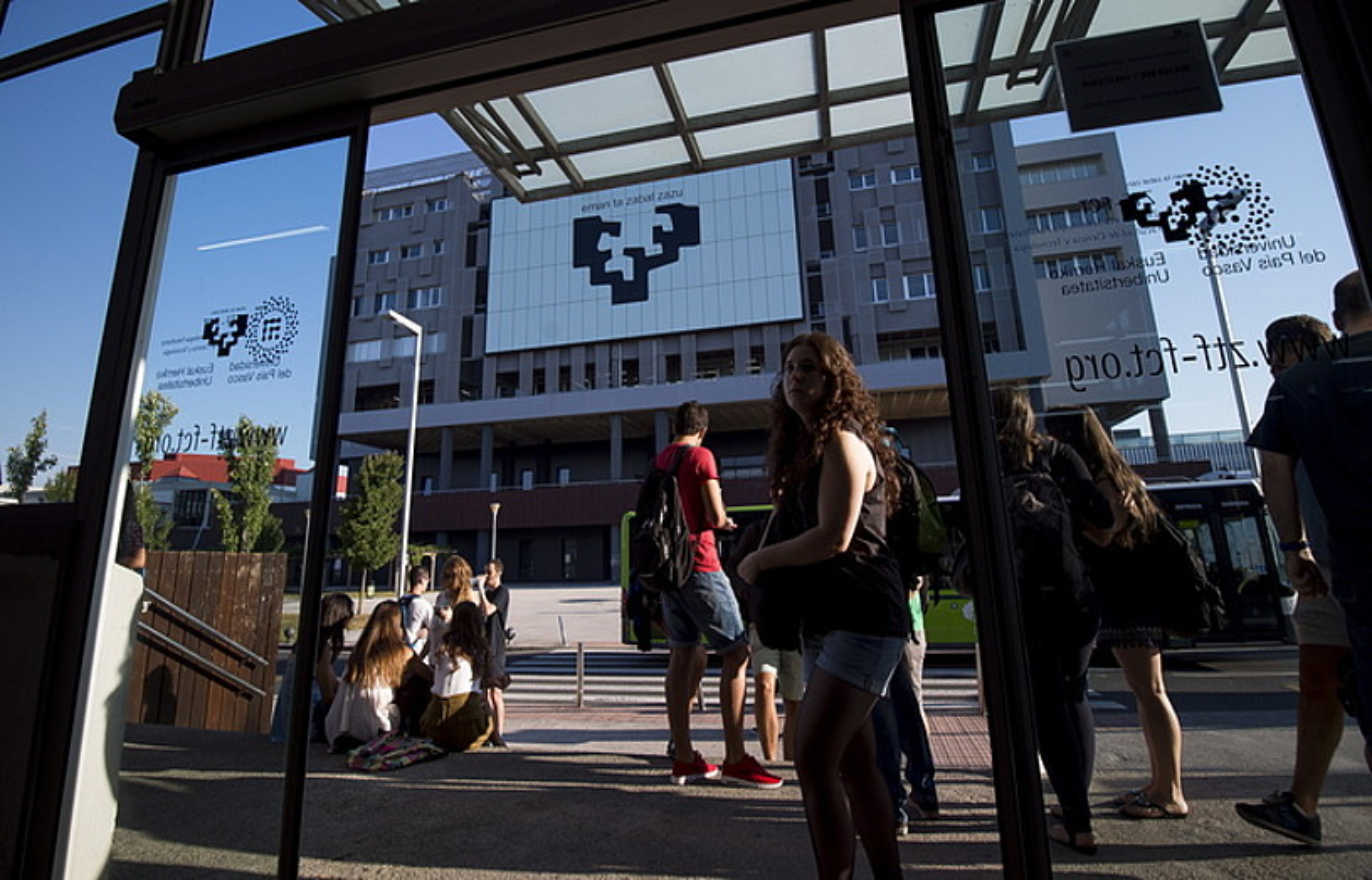 EHUren Leioako campusa. ©LUIS JAUREGIALTZO / FOKU
