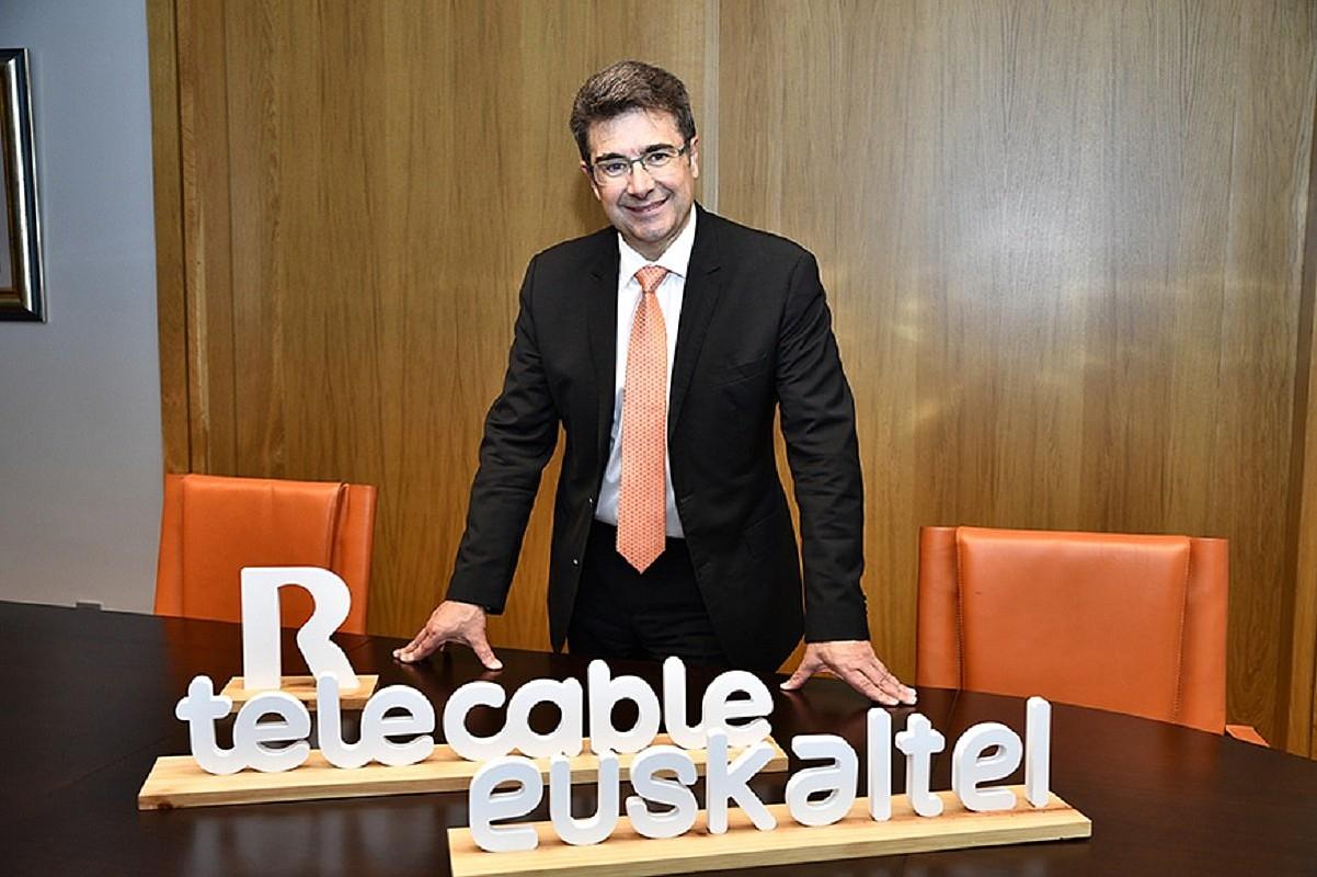 Jose Miguel Garcia Euskalteleko kontseilari ordezkaria. ©EUSKALTEL