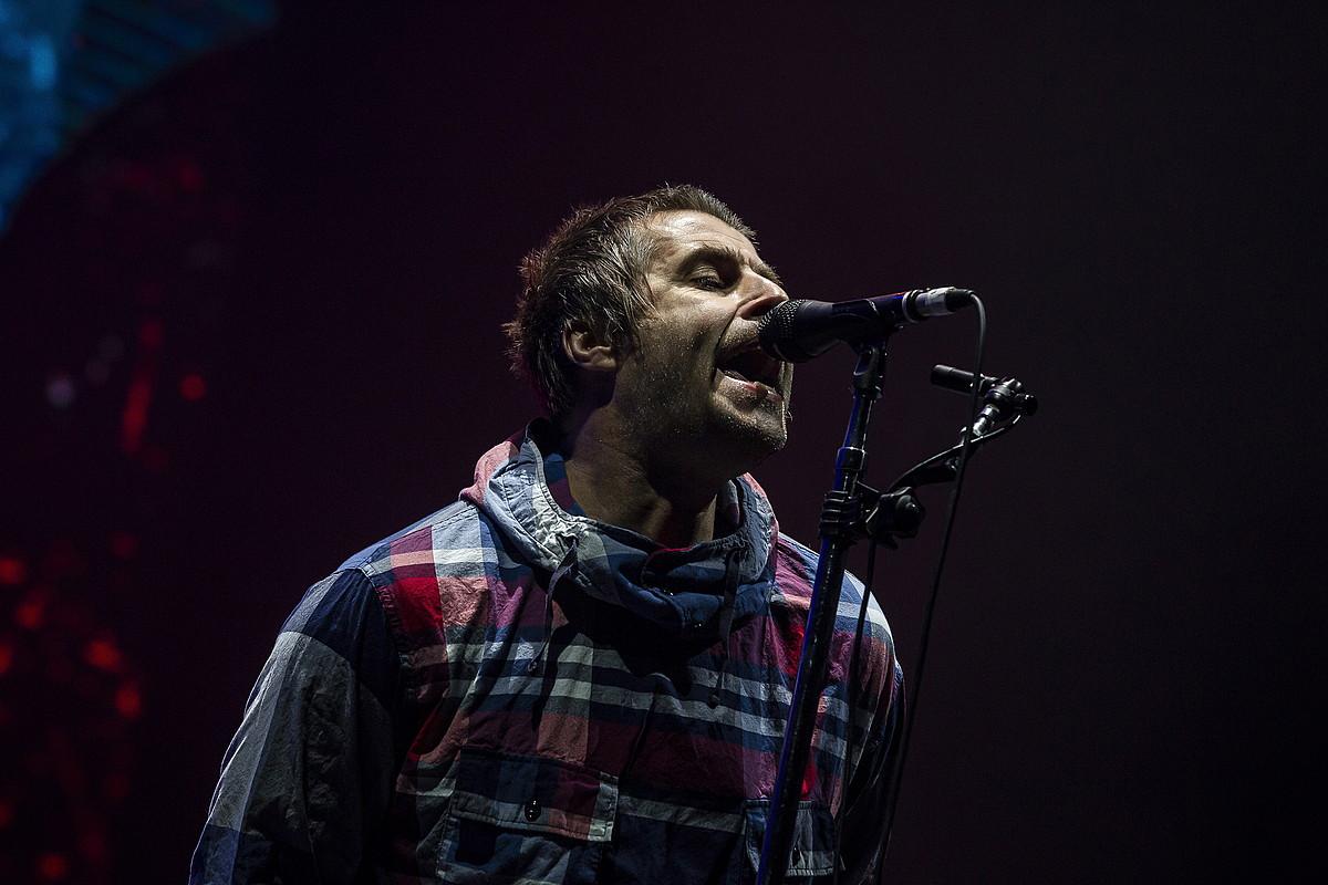 Liam Gallagher, BBK Live jaialdian Kobetamendin eman zuen kontzertuan, herenegun. ©ARITZ LOIOLA / FOKU