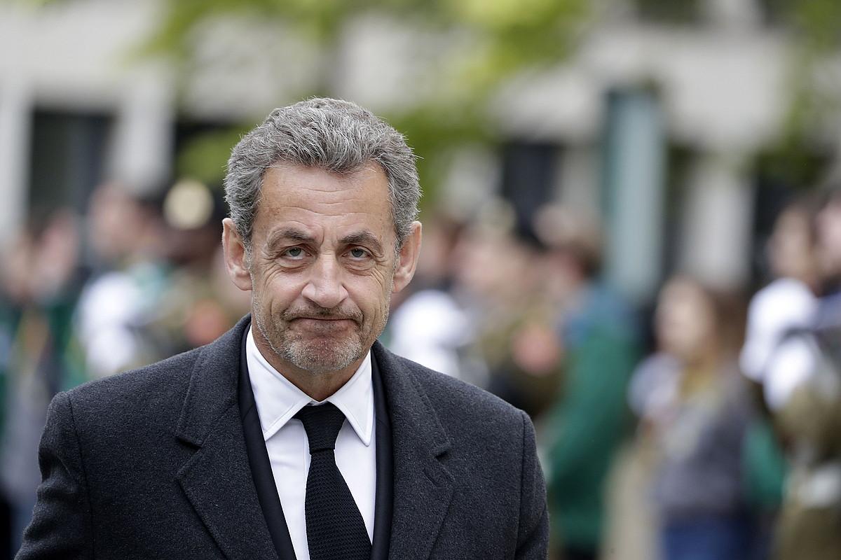 Sarkozy, iragan hilabetean, Jean Luxenburgoko Duke Handiaren hiletan. ©J. W. / EFE