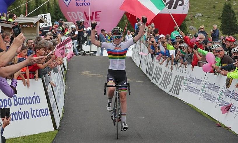 Anna van der Breggenek azken metroetan lortu zuen atzo garaipena.