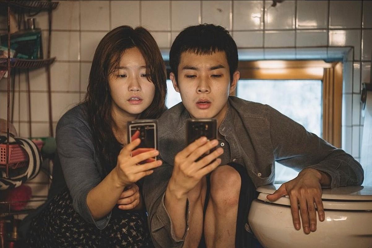 <em>Parasite</em> filmaren fotograma bat. Bong Joon Horen lanak Urrezko Palma irabazi du aurten Cannesen. ©DONOSTIAKO ZINEMALDIA