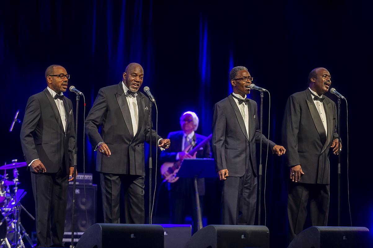 The Golden Gate Quarteten emanaldia, herenegun gauean, Mendizorrotzan. ©JAIZKI FONTANEDA / FOKU