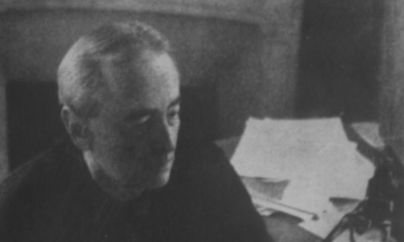 Bigarren Mundu Gerrak Argentinan harrapatu, eta 1939tik 1963ra han bizi izan zen Gombrowicz. ©ALEKSANDER JANTA ARCHIVE