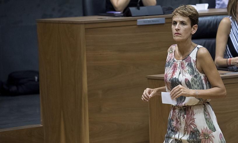 Maria Txibite lehendakari hautatua, atzo. ©IÑIGO URIZ / FOKU