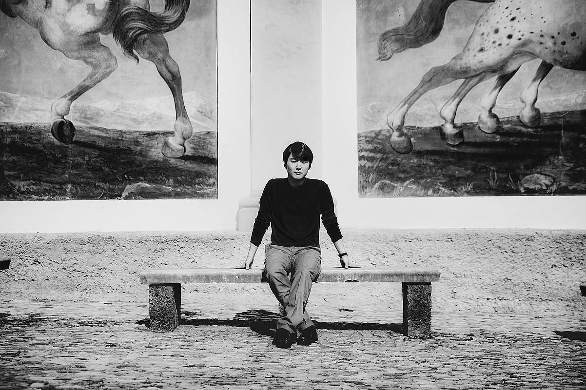 Seong-Jin Cho piano jotzailea. ©HOLGER HAGE / DONOSTIAKO MUSIKA HAMABOSTALDIA