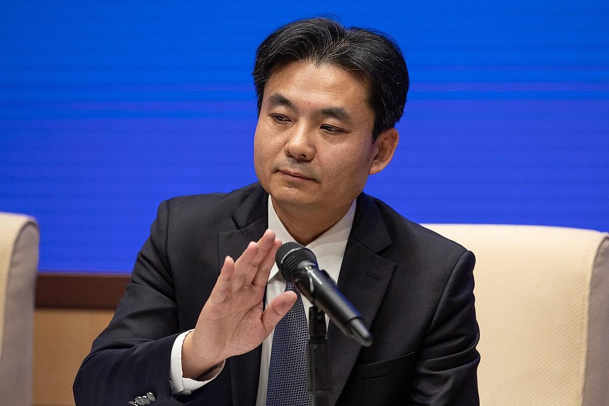Yang Guang Pekingo Gobernuaren eleduna, atzo. ©ROMAN PILIPEY / EFE