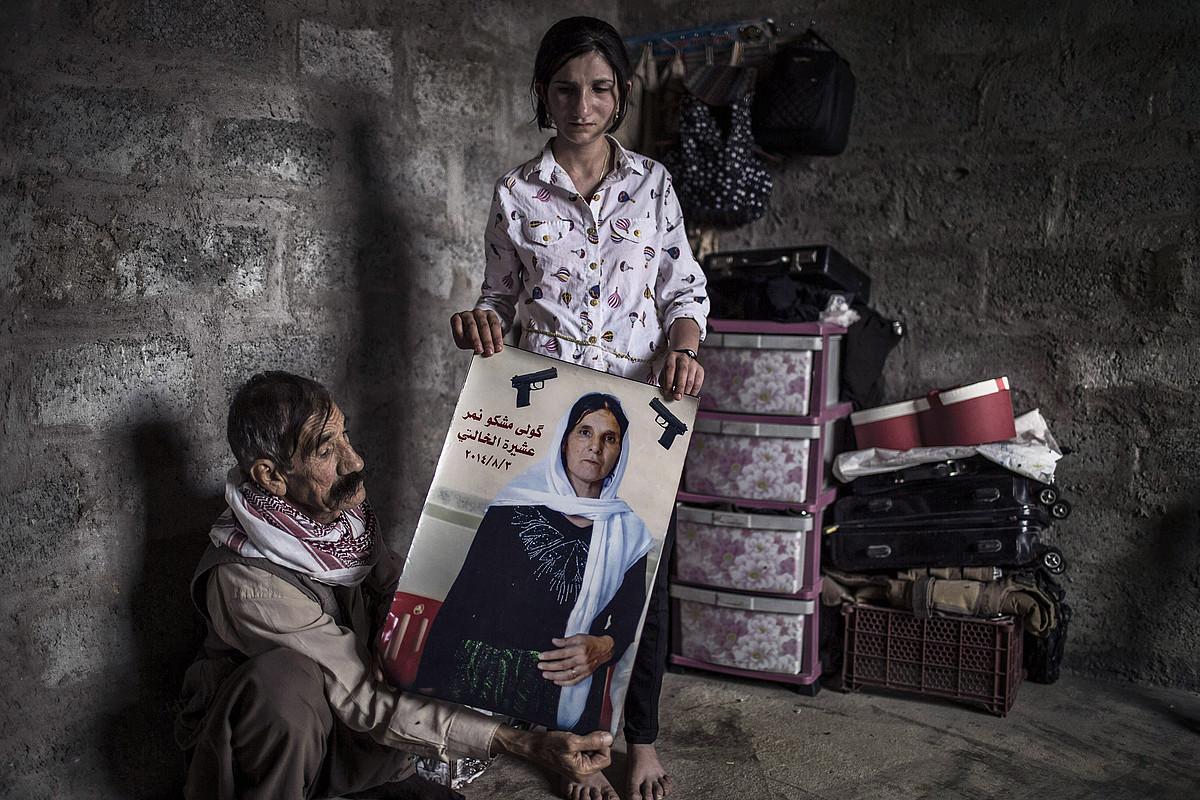 EIk Kurdistanen egindako zauriak