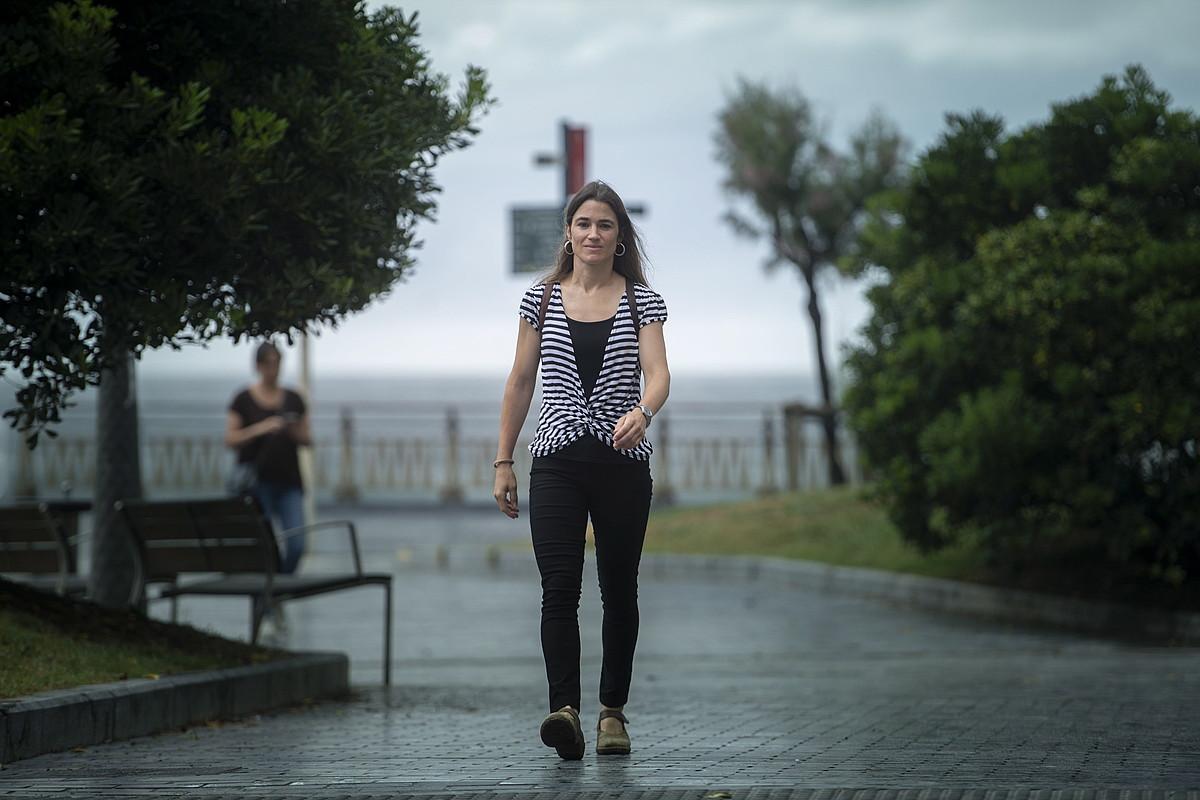 Aiora Jaka itzultzailea, Donostian. ©JON URBE / FOKU