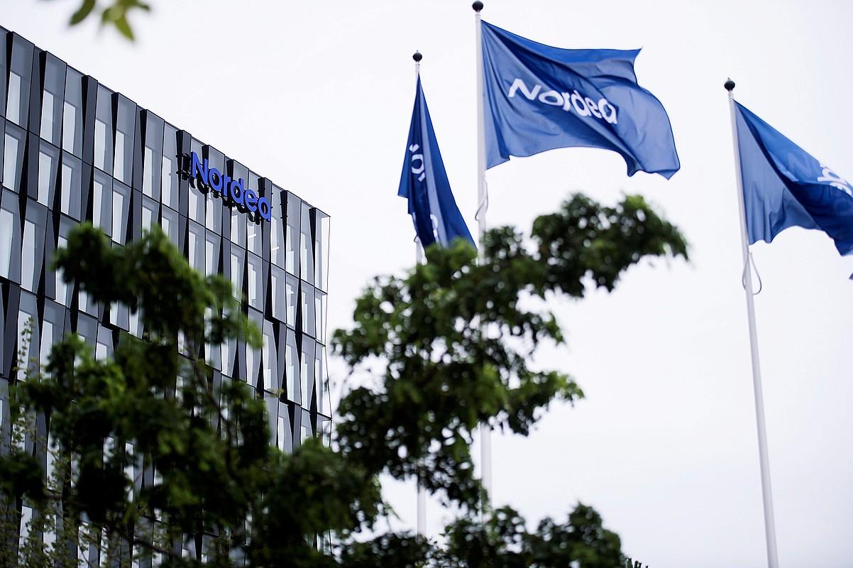 Nordea bankua interes gabeko hogei urterako hipotekak saltzen hasi da Danimarkan. ©SARAH CHRISTINE NOERGAARD / EFE