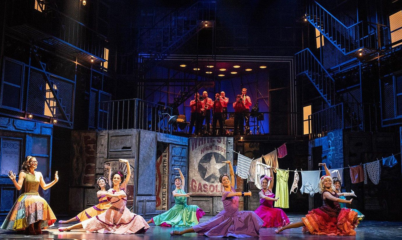 <i>West Side Story</i> musikala irailaren 8ra bitartean ikusi ahalko da Bilboko Arriaga antzokian. ©BERRIA