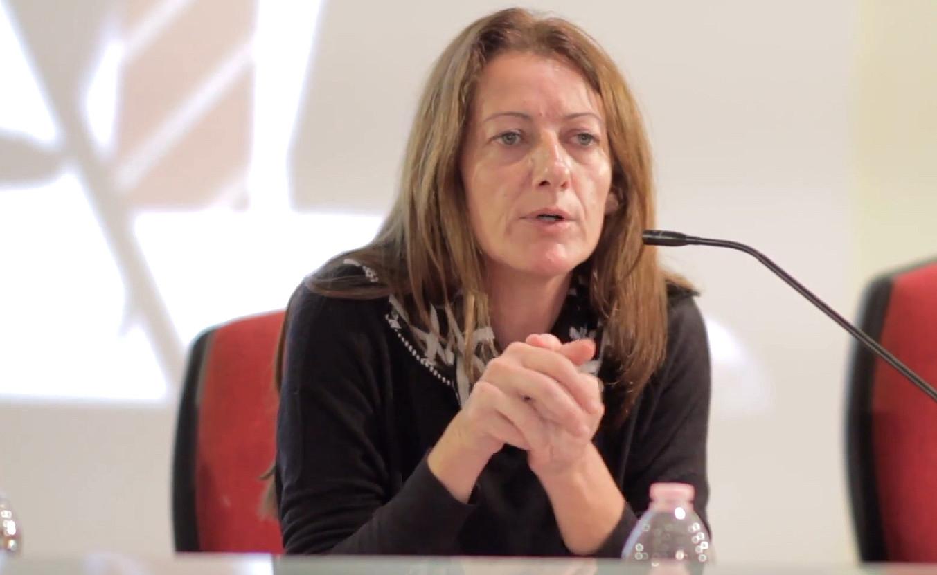 Caroline Muscat Maltako kazetariak Kazetaritza Independetziaren saria jaso du. ©BERRIA