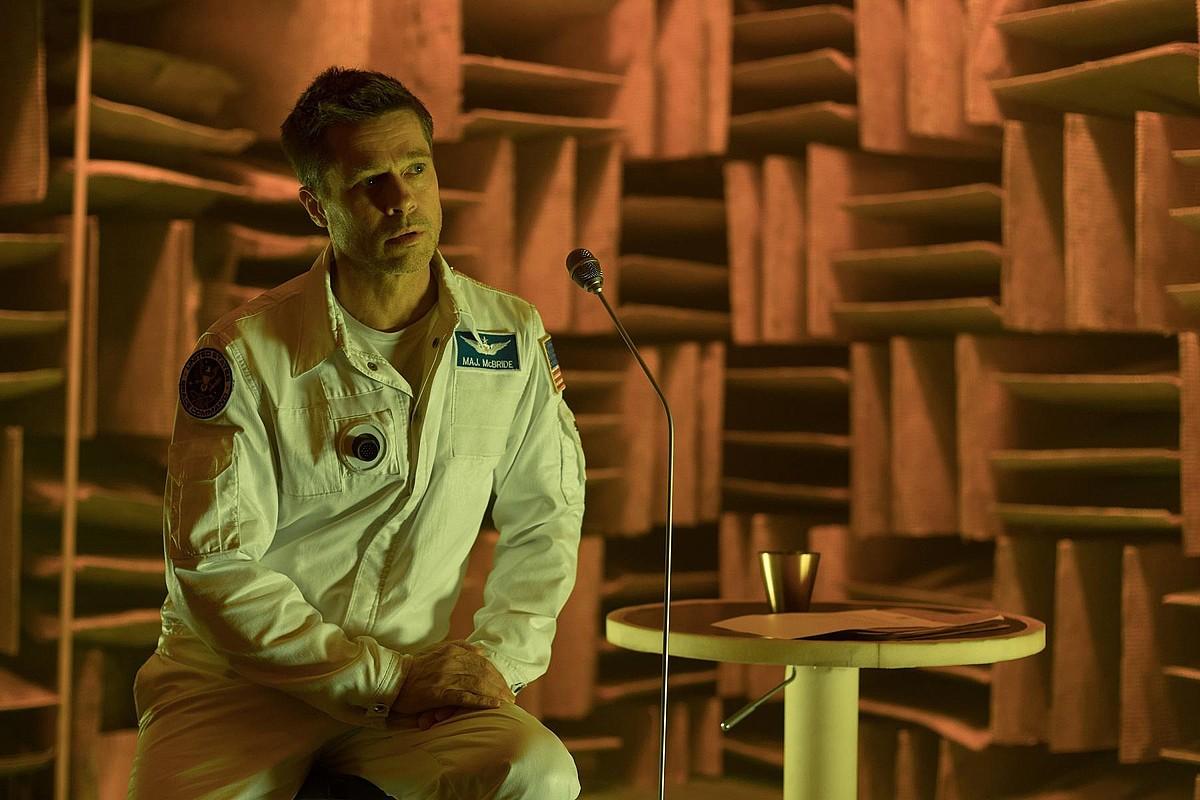 Brad Pitt aktorea da espazioan gertatzen den film honetako protagonista. ©BERRIA