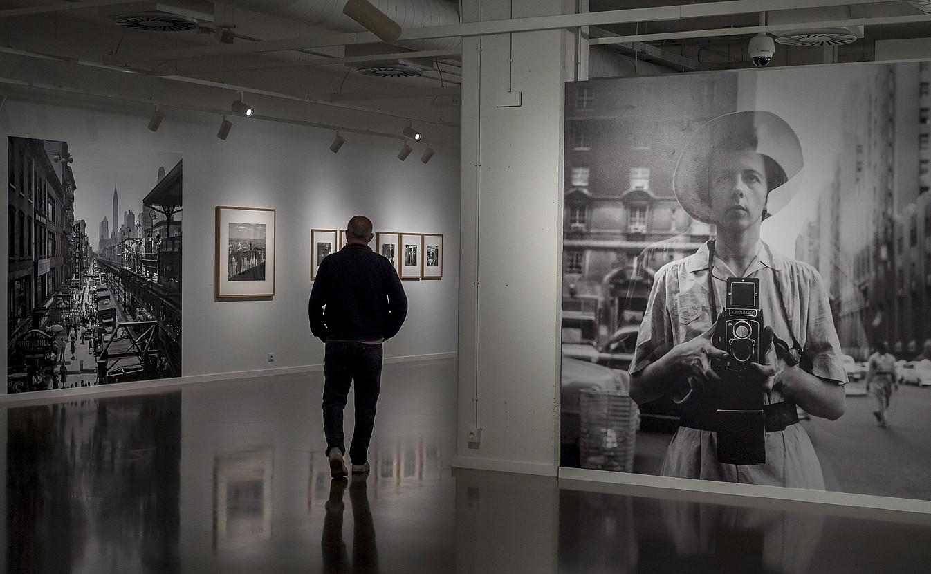 Vivian Maierri buruzko erakusketa, Tabakaleran. ©ANDONI CANELLADA / FOKU