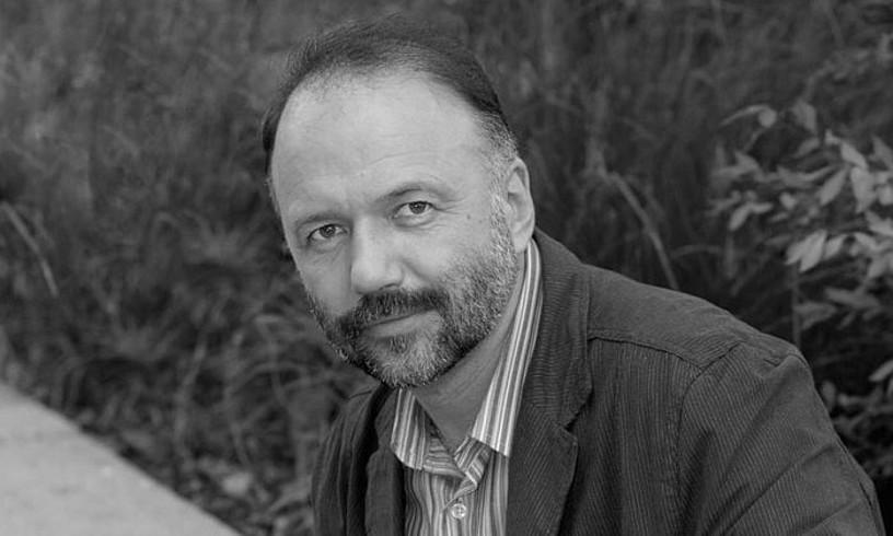 Andrei Kurkov idazle errusiarra, artxiboko irudi batean. ©BERRIA