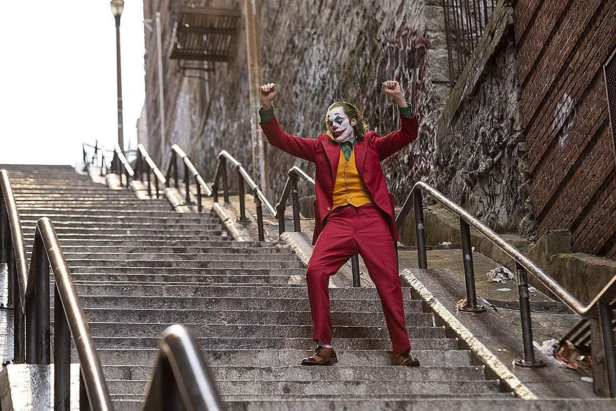 Joaquin Phoenix aktoreak jokatzen du Jokerren rola. ©BERRIA