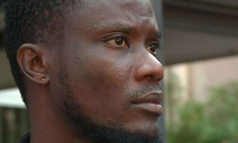 Jerry H., Nigeriatik ihes egin zuen migratzailea. ©LES BASCOS