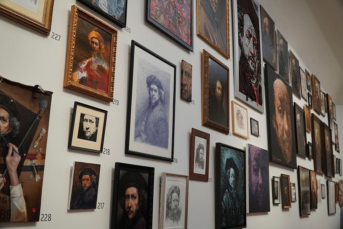 Margolariaren heriotzaren urteurrena dela eta, <em>Luzaz bizi bedi Rembrandt</em> erakusketa ikusgai da Amsterdamgo Rijksmuseum museoan. ©IMANE RACHIDI / EFE