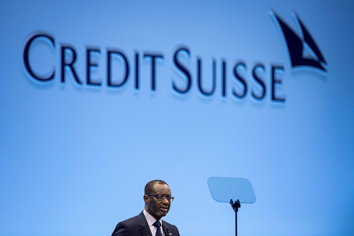 Tidjane Thiam, Credit Suisseko buruzagi exekutiboa. ©ENNIO LEANZA / EFE