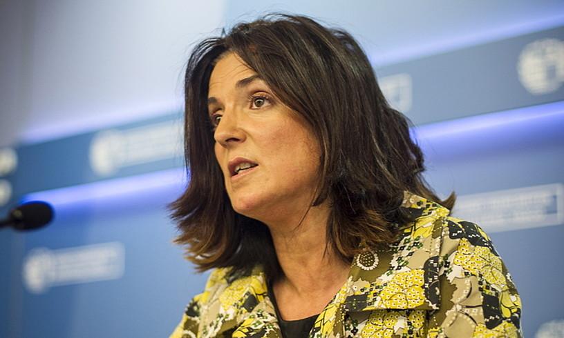 Beatriz Artolazabal Lan sailburua. ©JAIZKI FONTANEDA / FOKU