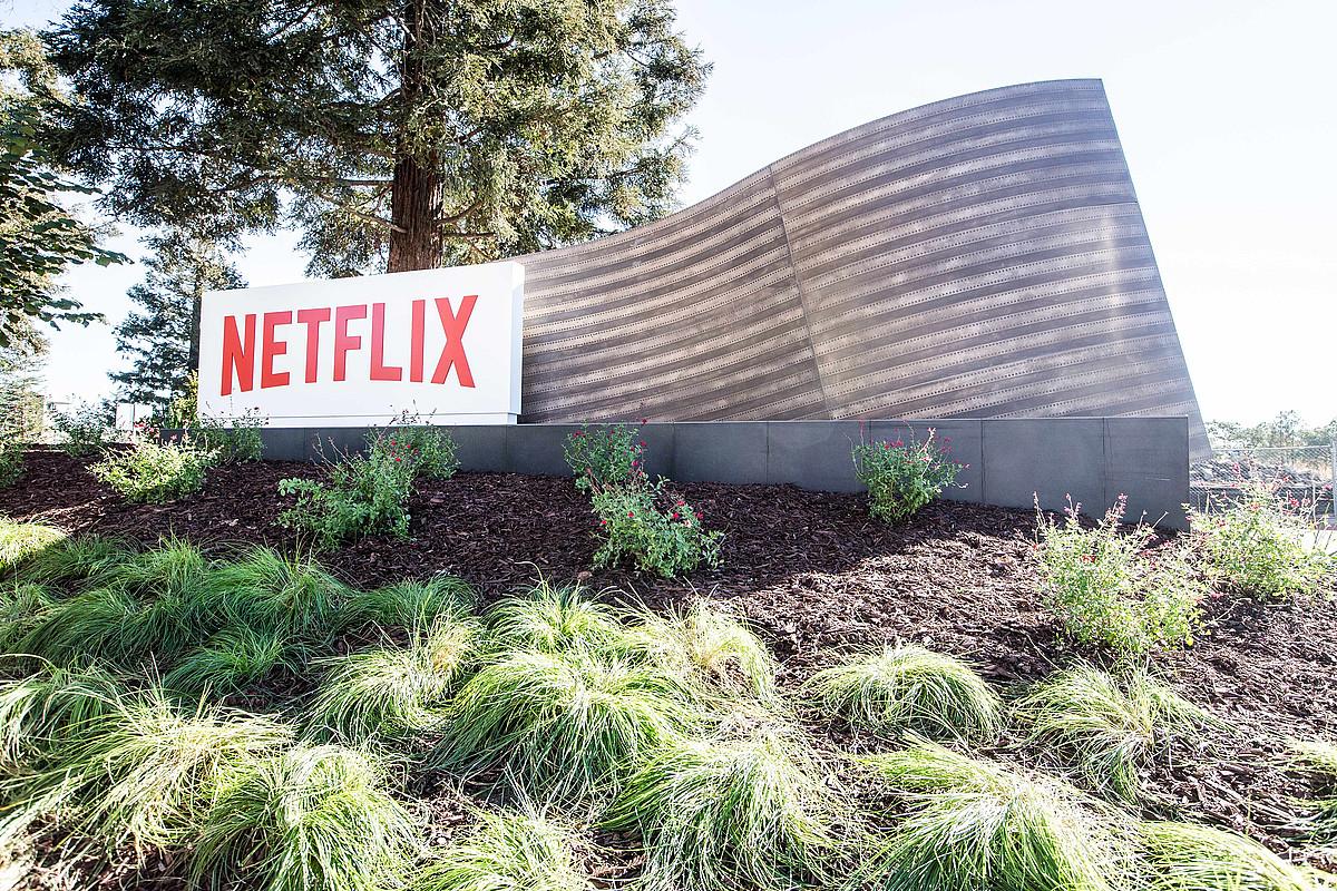 Netflix enpresaren Los Gatosko (Kalifornia, AEB) egoitzaren irudi bat. ©NETFLIX