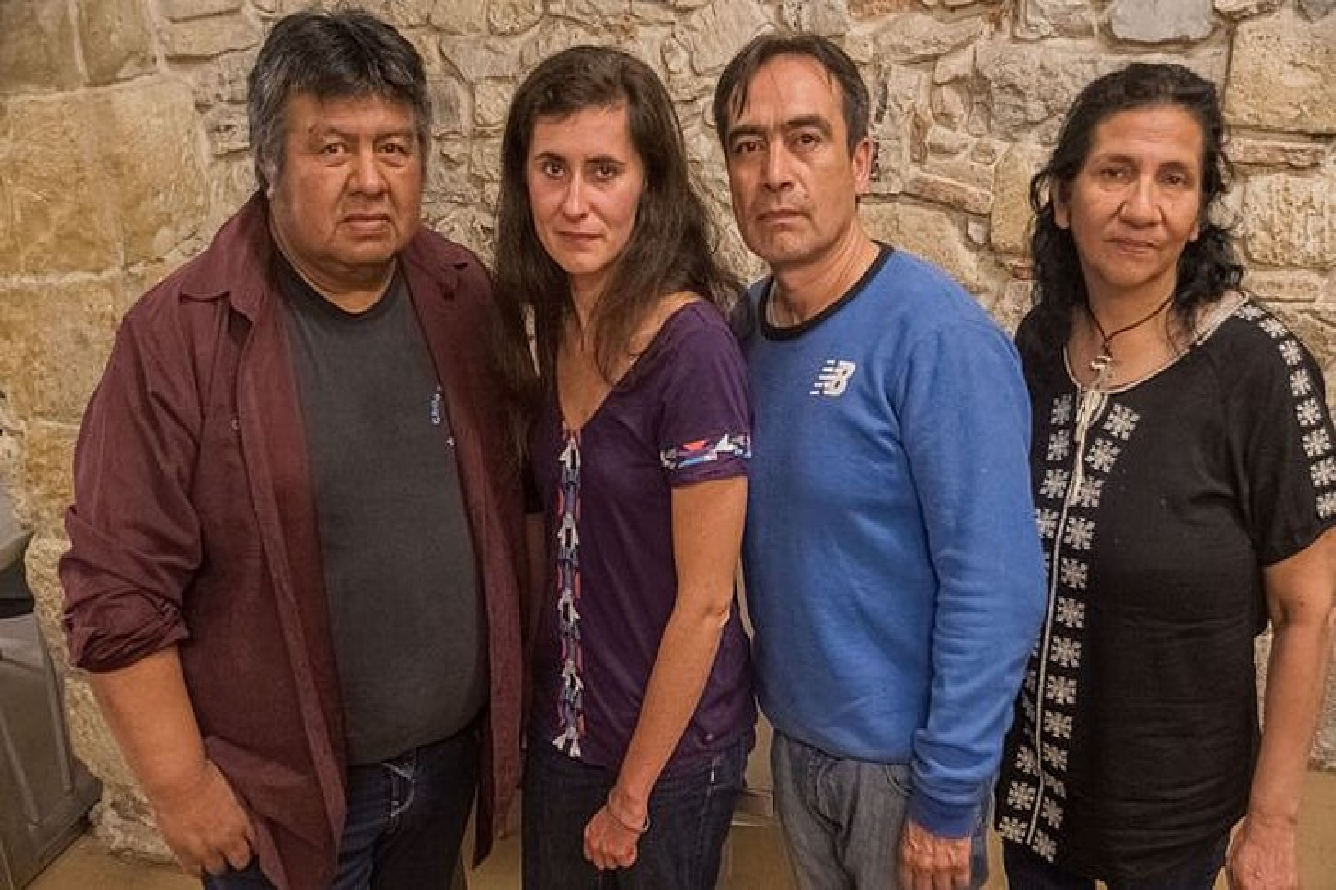 Jose Gonzalez Calderon, Lauriane Lemasson, Victor Vargas Filgueira eta Myrtha Salamanca. ©FRANÇOIS BERLAND