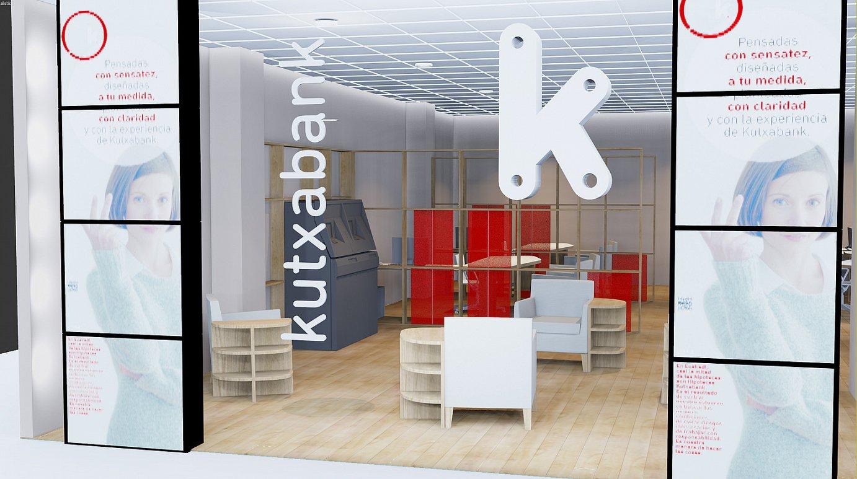 Kutxabanken bulego bat. ©BERRIA