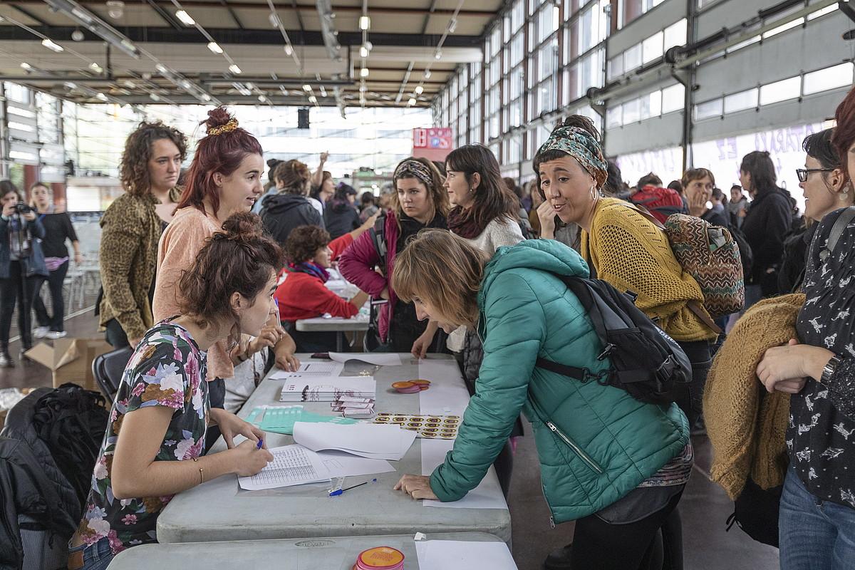Jardunaldietako irudia, atzo. ©ENDIKA PORTILLO / FOKU