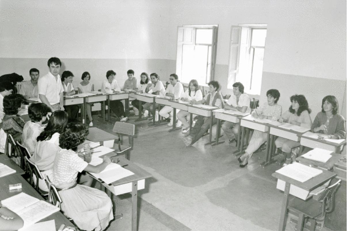 <b>Eskolak. </b>Milaka ikasle igaro dira Derioko seminarioko ikastaroetatik. ©LABAYRU FUNDAZIOA