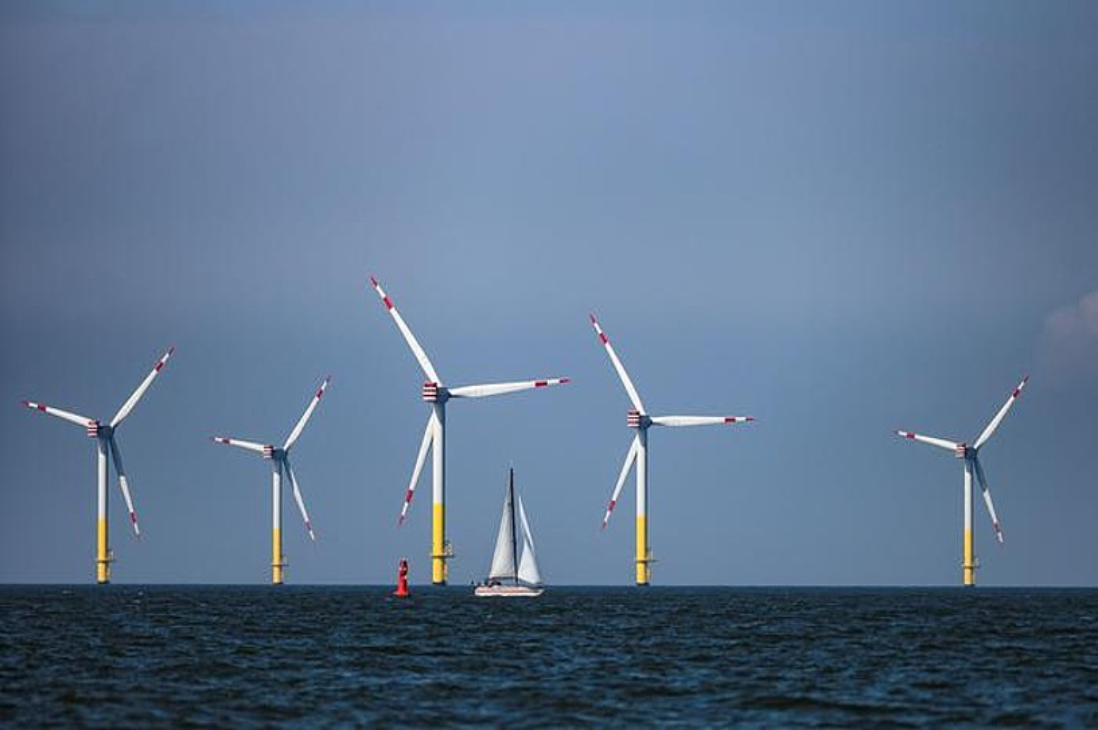 Windpark Nordergruende <em>offshore</em> parkea, Alemaniako kostaldean. ©KARSTEN KLAMA / EFE