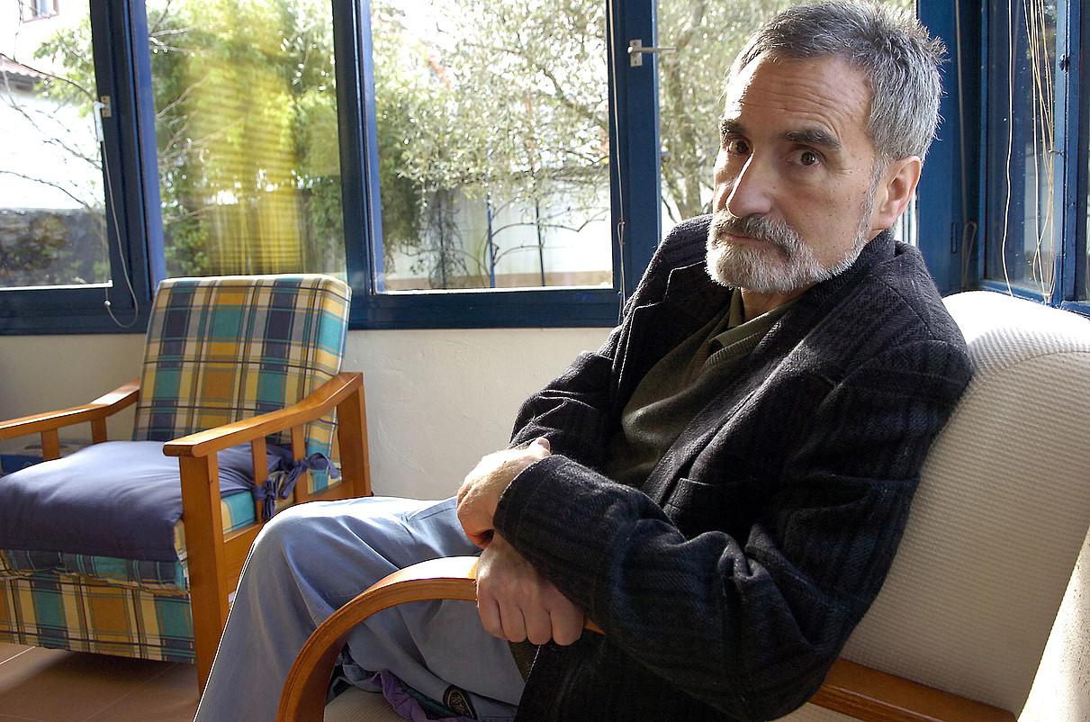 Xabier Lete, 2009ko irudi batean. ©IMANOL OTEGI / FOKU