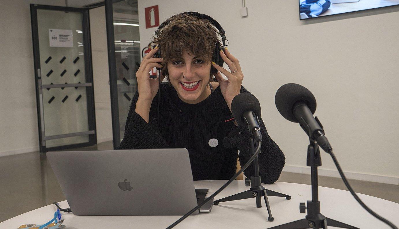 Maider Galardi kazetariak aurkeztu eta zuzenduko du <em>Berria FM</em> izeneko podcasta. ©ANDONI CANELLADA / FOKU