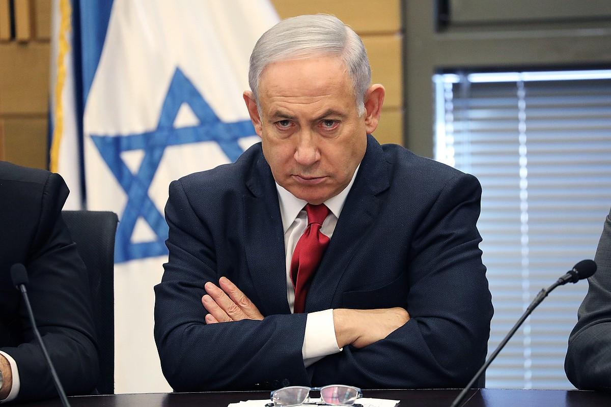 Netayahu jarduneko lehen ministroa, artxiboko irudi batean. ©ABIR SULTAN / EFE